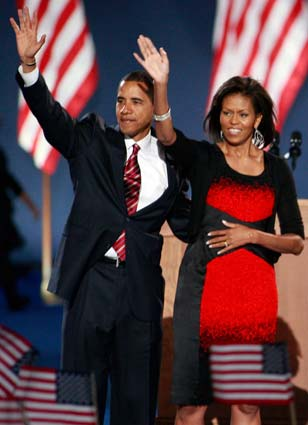 Michelle Obama Exudes Confidence