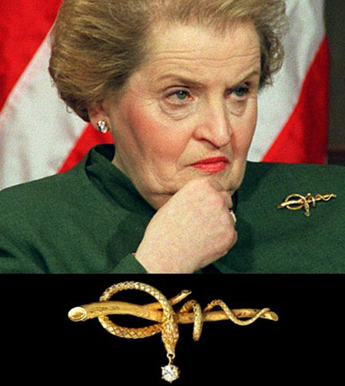 Madeleine Albright: The Power Of The Pin