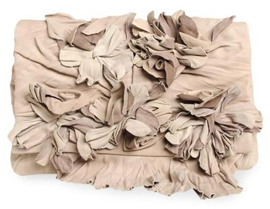 Fashion Crush: Valentino Floral Flap Clutch