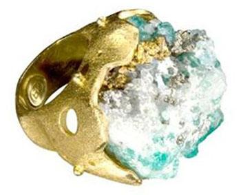Fashion Crush: Paula Mendoza Emerald Muso Ring