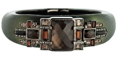 Fashion Crush: Alexis Bittar Neo Deco Gunmetal Bracelet