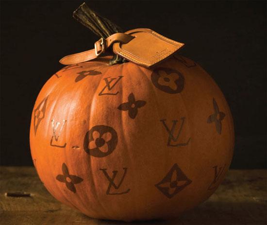 DIY Louis Vuitton Pumpkin