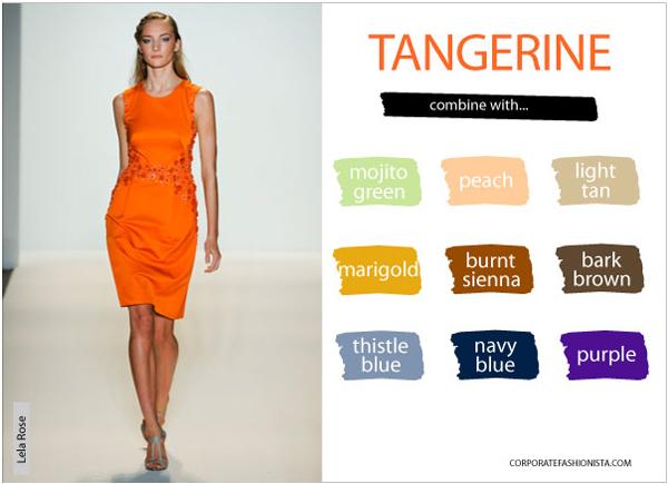 spring fashion color trends mint green tangerine tango lemon yellow corporate fashionista. Black Bedroom Furniture Sets. Home Design Ideas