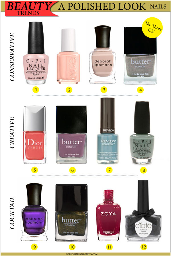 12 Nail Polishes Youll Live In This Summer
