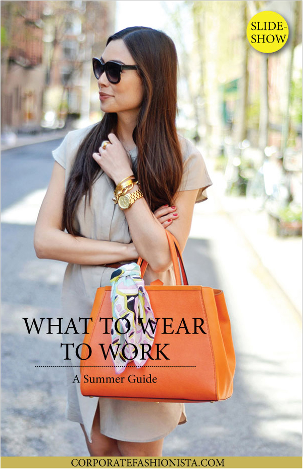 21 Of The Best Summer Outfits For Work | CorporateFashionista.com