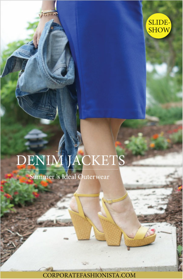 Ode To Denim Jackets: Summer's Ideal Outerwear | Corporate Fashionista