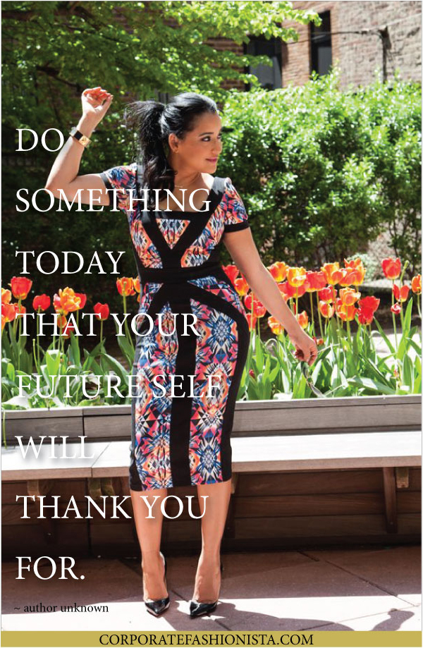 Quote Of The Day: Do Something... | CorporateFashionista.com