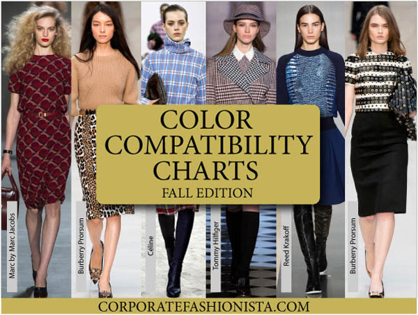 Color Coordinate Your Fall Wardrobe Like A Pro | CorporateFashionista.com