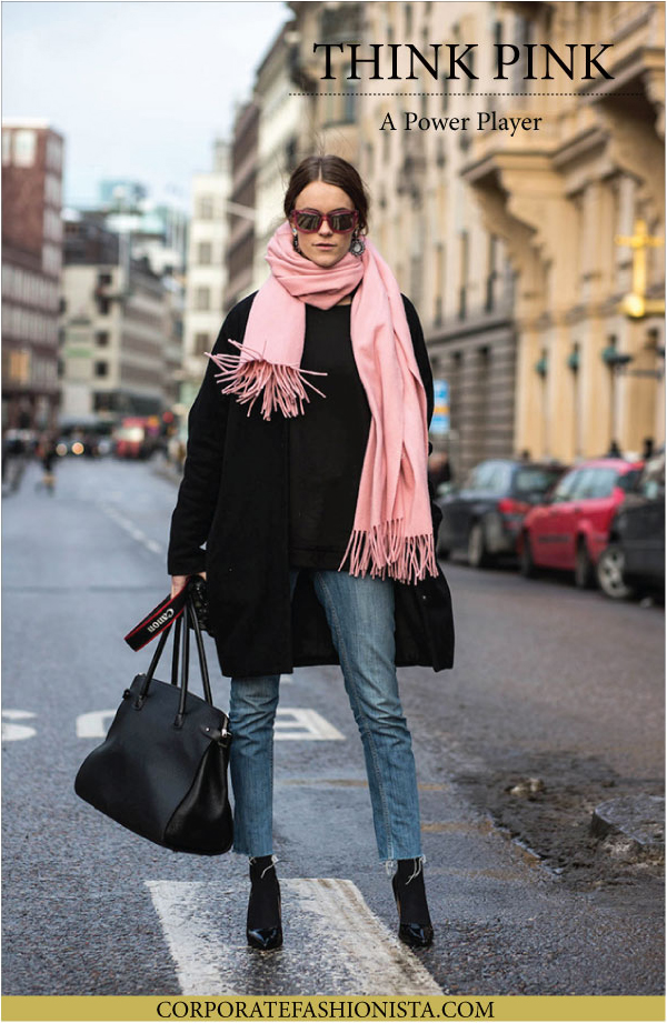 The Power Of Pink | CorporateFashionista.com