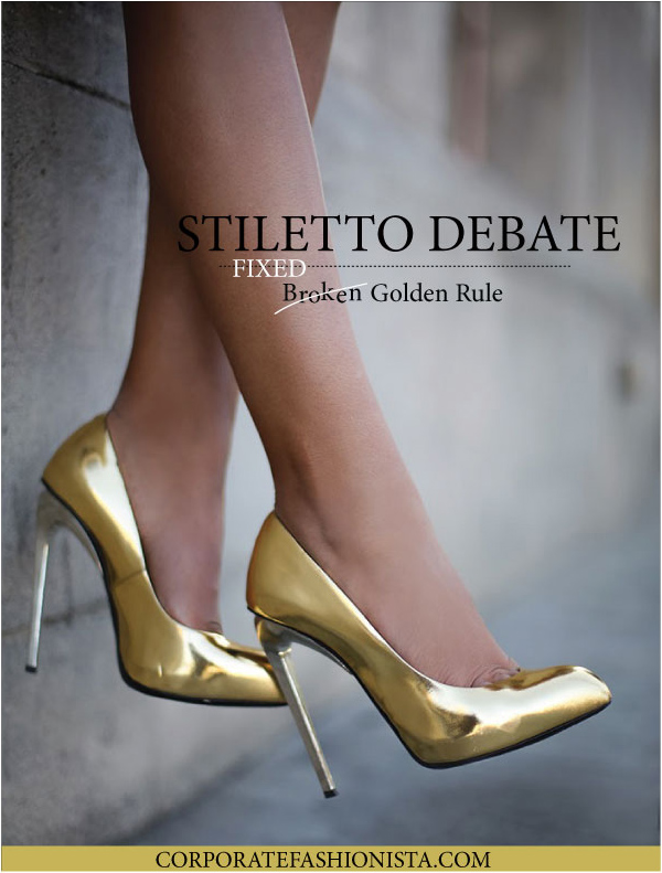 It's Not About The Stilettos, Or Is It | CorporateFashionista.com