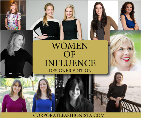 Women Of Influence: Fashion Designers Who Dress Professionals | CorporateFashionista.com