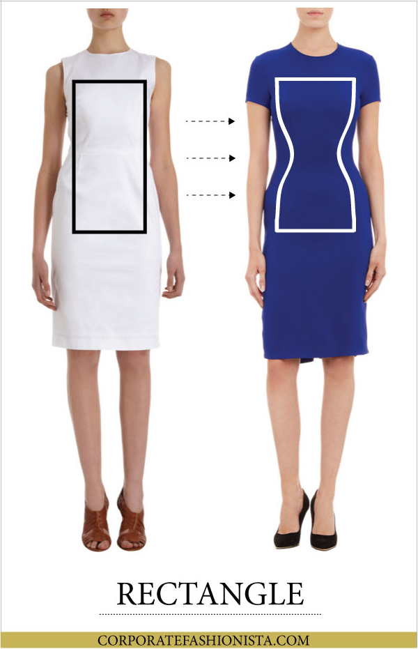 Discover How To Dress Your Body Type (Once & For All!) - Body Type: Rectangle | CorporateFashionista.com