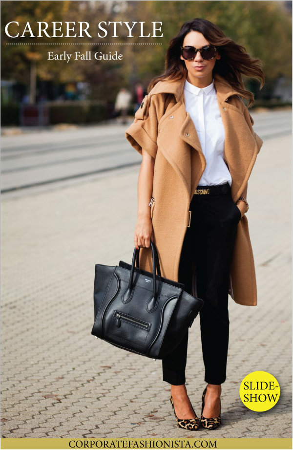11 Ways To Easily Transition Your Career Style From Summer To Fall | CorporateFashionista.com