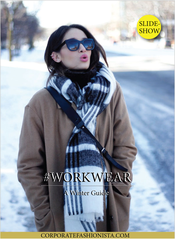 20 Wintry Workwear Looks To Wear Right Now | CorporateFashionista.com