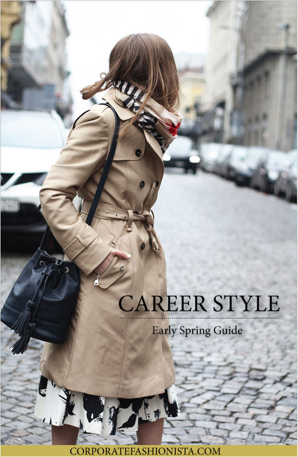 15 Early Spring Career Looks To Wear Now | CorporateFashionista.com