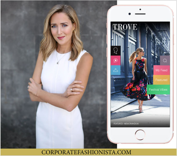 Influencing Style: Trove App Makes Shopping Favorite Bloggers Latest Outfits Easier | CorporateFashionista.com